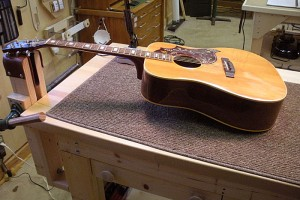 1975 Gibson Hummingbird Restoration