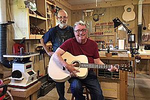 Guitar Build Class: Tom S.